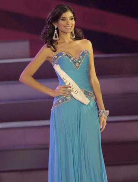Mexico's Ana Gabriela Espinoza at Miss World 2008 (image courtesy of Miss World Ltd)