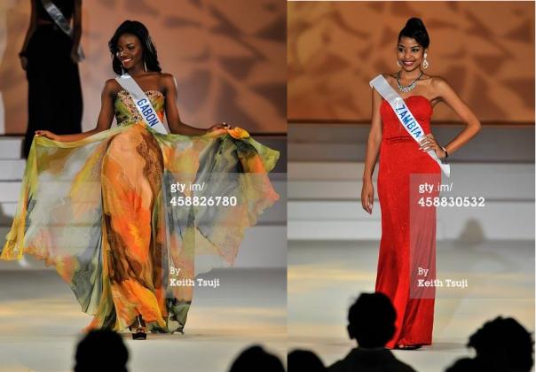 Black Africa Represent:  Gabon and Zambia