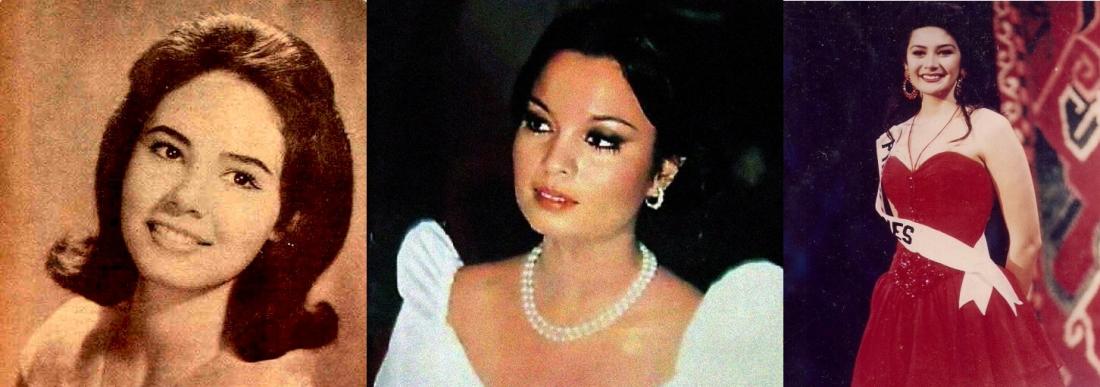 Mestiza successes at Miss Universe:  1963 3rd runner-up Lalaine Bennett, Miss Universe 1973 Margie Moran, 1994 finalist Charlene Gonzales