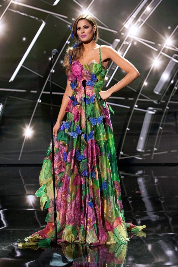 Ariadna Gutierrez, Miss Colombia 2015 debuts her National Costume on stage at Planet Hollywood Resort & Casino Wednesday, December 16, 2015. The 2015 Miss Universe contestants are touring, filming, rehearsing and preparing to compete for the DIC Crown in Las Vegas. Tune in to the FOX telecast at 7:00 PM ET live/PT tape-delayed on Sunday, Dec. 20, from Planet Hollywood Resort & Casino in Las Vegas to see who will become Miss Universe 2015. HO/The Miss Universe Organization