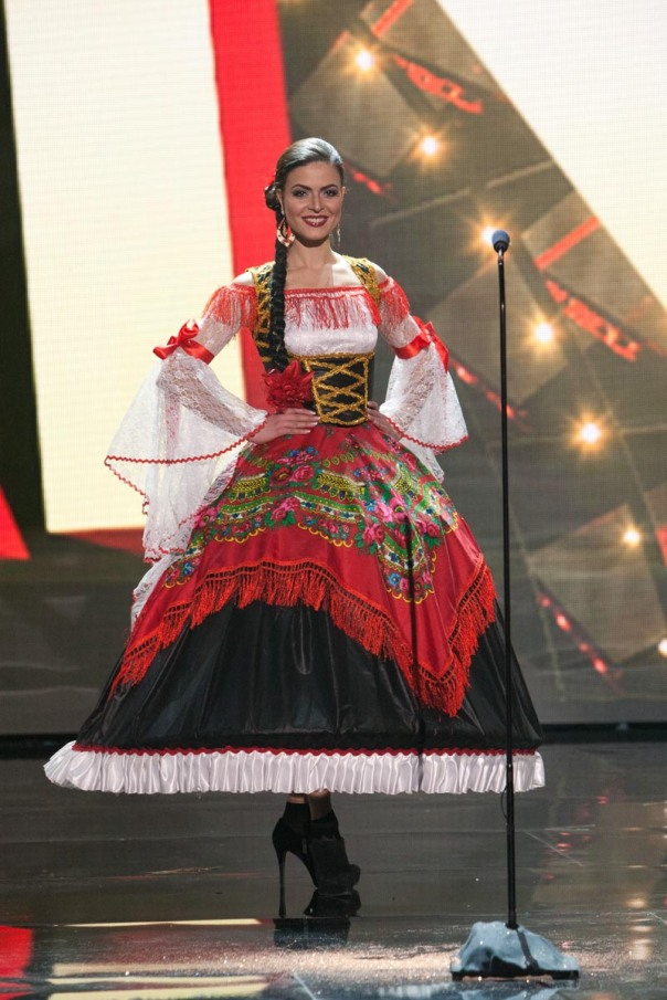 Emília Araújo, Miss Portugal 2015 debuts her National Costume on stage at Planet Hollywood Resort & Casino Wednesday, December 16, 2015. The 2015 Miss Universe contestants are touring, filming, rehearsing and preparing to compete for the DIC Crown in Las Vegas. Tune in to the FOX telecast at 7:00 PM ET live/PT tape-delayed on Sunday, Dec. 20, from Planet Hollywood Resort & Casino in Las Vegas to see who will become Miss Universe 2015. HO/The Miss Universe Organization