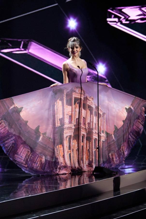 Melisa Uzun, Miss Turkey 2015 debuts her National Costume on stage at Planet Hollywood Resort & Casino Wednesday, December 16, 2015. The 2015 Miss Universe contestants are touring, filming, rehearsing and preparing to compete for the DIC Crown in Las Vegas. Tune in to the FOX telecast at 7:00 PM ET live/PT tape-delayed on Sunday, Dec. 20, from Planet Hollywood Resort & Casino in Las Vegas to see who will become Miss Universe 2015. HO/The Miss Universe Organization